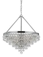 Picture for category Crystorama Lighting 136-CH Mini Chandeliers Calypso