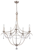 Picture for category Crystorama Lighting 425-SA Chandeliers Metro ii