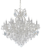 Picture for category Crystorama Lighting 4418-CH-CL-MWP Chandeliers Maria theresa