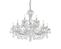 Picture for category Crystorama Lighting 4479-CH-CL-MWP Chandeliers Maria theresa