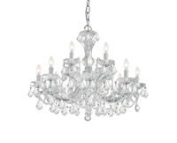 Picture for category Crystorama Lighting 4479-CH-CL-S Chandeliers Maria theresa