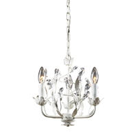 Picture for category Elk 18112/3 Circeo Chandeliers 11in Antique White 3-light