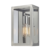 Picture for category Elk 31210/1 Parameters nickel Wall Sconces 7in Polished Chrome 1-light