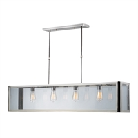 Picture for category Elk 31213/4 Parameters nickel Island Lighting 47in Polished Chrome 4-light