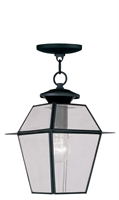 Picture for category Livex 2183-04 Westover Outdoor Pendant 8in Black 1-light