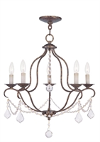 Picture for category Livex Lighting 6435-71 Chandeliers Chesterfield