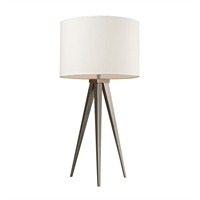 Picture for category Dimond D2122 Salford Table Lamps 14in Satin Nickel Steel 1-light