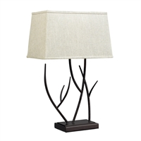 Picture for category Dimond D2209 Winter harbour Table Lamps 16in Bronze Steel 1-light