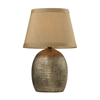 Picture for category Dimond D2222 Gilead Table Lamps 13in Meknes Bronze Ceramic 1-light