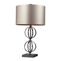 Picture for category Dimond D2224 Danforth Table Lamps 16in Coffee Plating Steel 1-light