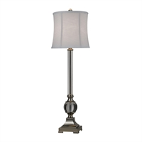 Picture for category Dimond D2309 Corvallis Table Lamps 11in Clear Polished Nickel Metal Crystal