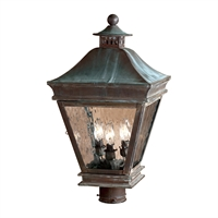 Picture for category Elk 5723-C Landings Outdoor Lighting Lamps 12in Charcoal 3-light