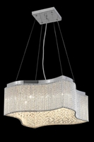 Picture for category Elegant Lighting 2091D20C/EC Chandeliers Influx
