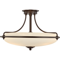 Picture for category Quoizel Lighting GF1721PN Semi Flush Griffin