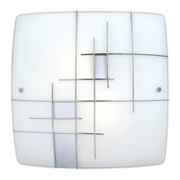 Picture for category Eglo 90383A Raya 1 Flush Mounts