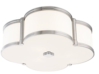 Picture for category Hudson Valley 1216-PN Chandler Flush Mounts Polished Nickel 3-light