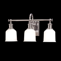 Picture for category Hudson Valley 1973-AGB Keswick Bath Lighting 21in Aged Brass 3-light