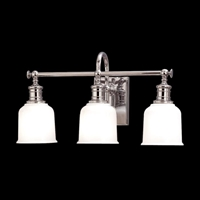 Picture for category Hudson Valley 1973-SN Keswick Bath Lighting 21in Satin Nickel 3-light