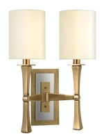 Picture for category Hudson Valley Lighting 2112-AGB Wall Sconces York