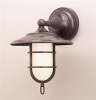 Picture for category Hudson Valley 2901-OB Rockford Wall Lantern 9in Old Bronze 1-light