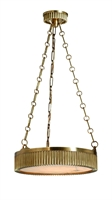 Picture for category Hudson Valley 516-AGB Lynden Pendants Aged Brass 4-light