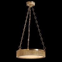Picture for category Hudson Valley 516-AN Lynden Pendants Antique Nickel 4-light