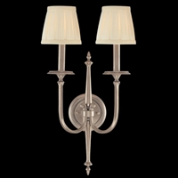 Picture for category Hudson Valley 5202-AN Jefferson Wall Lantern 12in Antique Nickel 2-light