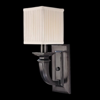 Picture for category Hudson Valley 541-HN Phoenicia Wall Lantern 5in Historic Nickel 1-light