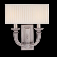 Picture for category Hudson Valley 542-PN Phoenicia Wall Lantern 10in Polished Nickel 2-light