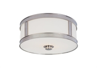 Picture for category Hudson Valley 5513-PN Patterson Flush Mounts Polished Nickel 2-light