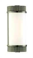 Picture for category Hudson Valley 561-AN Benton Bath Lighting 5in Antique Nickel 1-light
