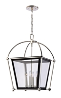 Picture for category Hudson Valley 3618-PN Hollis Pendants 18in Polished Nickel 4-light