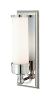 Picture for category Hudson Valley 371-PN Everett Bath Lighting 5in Polished Nickel 1-light