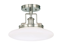 Picture for category Hudson Valley 4202-PN Beacon Semi Flush Polished Nickel 1-light
