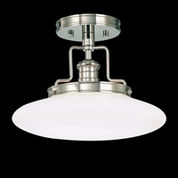 Picture for category Hudson Valley 4202-SN Beacon Semi Flush Satin Nickel 1-light