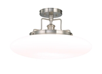 Picture for category Hudson Valley 4208-PN Beacon Semi Flush Polished Nickel 1-light