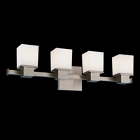 Picture for category Hudson Valley 4444-PC Milford Bath Lighting 24in Polished Chrome 4-light