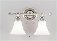 Picture for category Hudson Valley 4502-PN Weston Bath Lighting 16in Polished Nickel 2-light