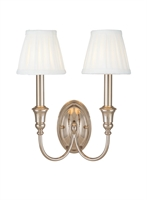 Picture for category Hudson Valley 6112-PN Jaden Wall Lantern 12in Polished Nickel 2-light