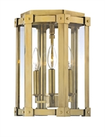 Picture for category Hudson Valley 6200-AGB Roxbury Flush Mounts 10in Aged Brass 3-light