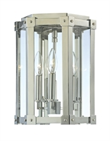 Picture for category Hudson Valley 6200-PN Roxbury Semi Flush 10in Polished Nickel 3-light
