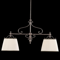 Picture for category Hudson Valley 7712-AGB Orchard park Island Lighting 15in Aged Brass 2-light