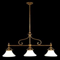Picture for category Hudson Valley 7822-HB Orchard park Island Lighting 13in Historic Bronze 3-light