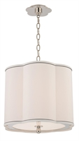 Picture for category Hudson Valley 7915-PN Sweeny Pendants 15in Polished Nickel 3-light