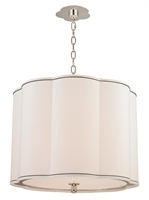 Picture for category Hudson Valley 7920-PN Sweeny Pendants 20in Polished Nickel 4-light
