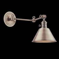 Picture for category Hudson Valley 8322-OB Garden city Wall Lantern 8in Old Bronze 1-light