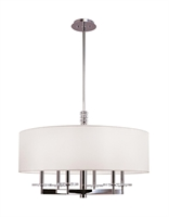 Picture for category Hudson Valley 8830-PN Chelsea Chandeliers Polished Nickel 6-light