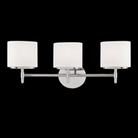 Picture for category Hudson Valley 8903-SN Trinity Bath Lighting 22in Satin Nickel 3-light