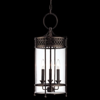 Picture for category Hudson Valley 8993-AN Amelia Pendants Antique Nickel 3-light