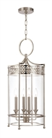 Picture for category Hudson Valley 8994-PN Amelia Pendants Polished Nickel 4-light